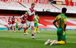Soccer-West Brom relegated after 3-1 defeat at Arsenal