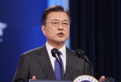 S.Korea's Moon says 'time to take action' on N.Korea ahead of summit with Biden