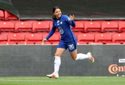 Soccer-WSL Golden Boot takes pride of place for Chelsea's Kerr