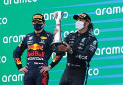 Motor racing-Hamilton says he learned a lot about Verstappen in Spain