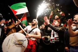 In Turkey, protests against Israel over surge in violence