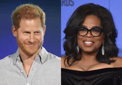 Oprah Winfrey, Prince Harry reunite for mental health TV show