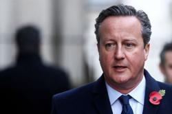 Former UK PM Cameron had extensive contact with senior ministers over Greensill