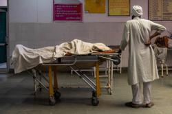 India's brutal COVID wave brings tragic scenes to small town hospital