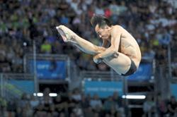 Diver moves on to other targets after missing Olympics ticket
