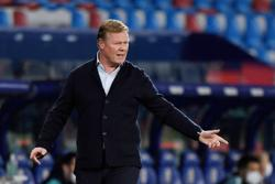 Soccer-Koeman expects questions on Barca future after collapse at Levante