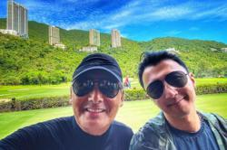 Nicholas Tse is latest Hong Kong celebrity to take a photo with Chow Yun Fat