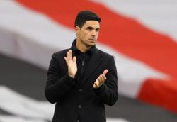 Soccer-Arteta says some players did not give their all this season