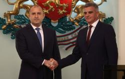 Bulgaria's caretaker prime minister says priority is rule of law