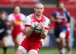 Rugby-Brown's Harlequins career comes to early end after six-week ban for head stamp