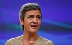EU's Vestager says to study Amazon tax setback before deciding next steps