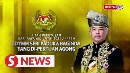 Celebrate Raya responsibly, Rulers tell Malaysians