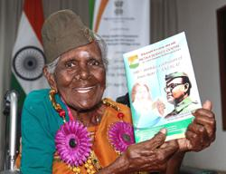 Freedom fighter honoured on her 101st birthday