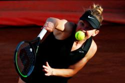 Tennis-Halep out of Italian Open after calf injury