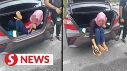 Bid to smuggle Indonesian woman in car boot foiled