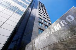 ABN Amro reports net loss on hefty money laundering fine