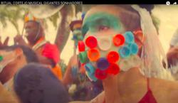 Watch: Brazil carnival artist rises above pandemic - on stilts
