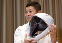 Japanese fashion magnate Maezawa to visit International Space Station: TV Tokyo