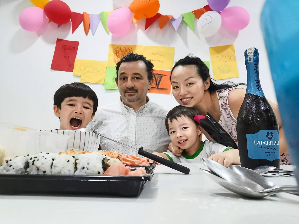 Mothers Day and their wedding anniversary this year. The pandemic hasn't impacted their celebrations much since they usually celebrate at home. Photo: Jessica Ong