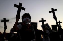 Black Brazilians protest racism, police violence