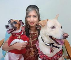 Pets are family too, says designer who has three 'furkids'