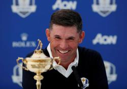 Golf: Harrington glad to see McIlroy's 'swagger' back ahead of Ryder Cup