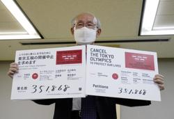 Petition against Tokyo Olympics with 350,000 signatures submitted to organisers