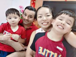 Despite many differences, life is 'simple' for this cross-cultural family