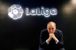 Soccer-La Liga still planning to take matches to U.S., Tebas says