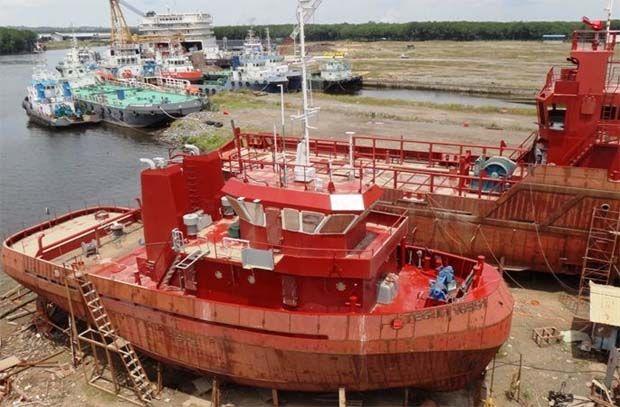 Coastal Contracts Bhd shipyard at Sandakan - File pic