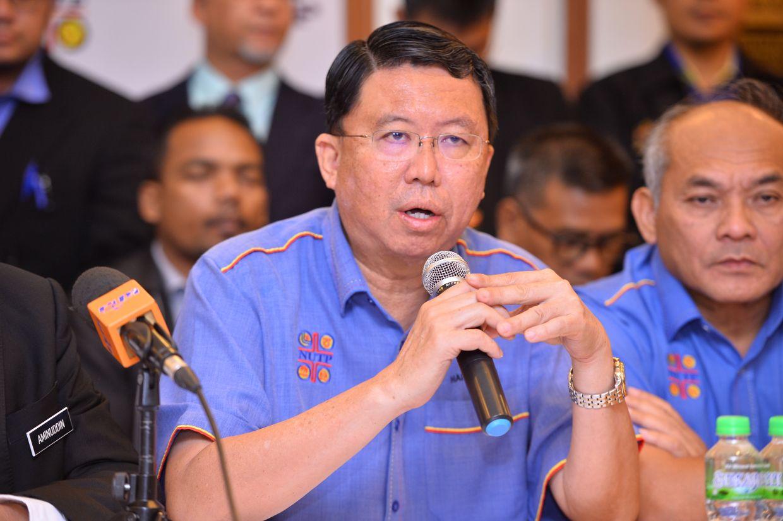 NUTP secretary general Harry Tan Huat Hock