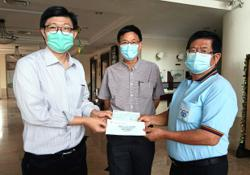 Donations pour in for UTAR hospital project