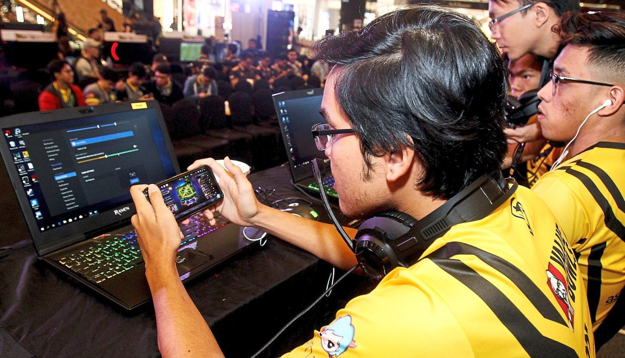 In 2019, gamers in Malaysia spent US$20.9mil (RM85mil) in the game. — SHAARI CHEMAT/The Star