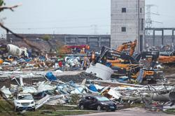Tornadoes rip through Wuhan and Suzhou