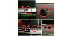 DUKEs of hazard: Five suspected mat rempit held in late-night op along expressway