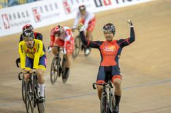 Riding to gold: Fadhil bags men's keirin title in Hong Kong