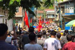 Anti-coup militia says at least five dead in Myanmar clashes