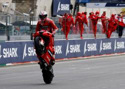 Motorcycling-Australia's Miller wins rain-hit French Grand Prix