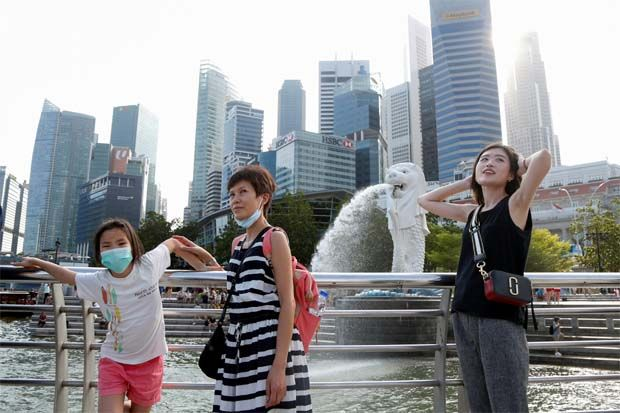 Singapore's iconic Merlion