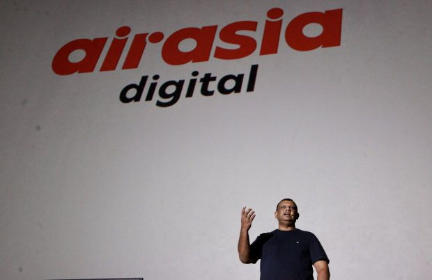 Tony Fernandes, CEO AirAsia Group at one of AirAsia Digital's Media Briefing - Filepic