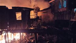 Fire leaves 221 homeless