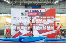 Cyclist owes keirin gold to three Ps – patience, persistence and perseverance
