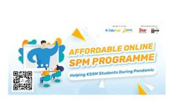 Affordable online SPM programme to help KSSM students during pandemic