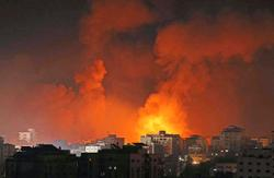 Israel launches dozens of strikes as Gaza fighting enters second week