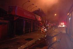Four shops in Ayer Hitam destroyed in Sunday night blaze