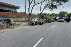 Nilai cops nab 17 foreigners suspected of breaching barricade to travel interstate