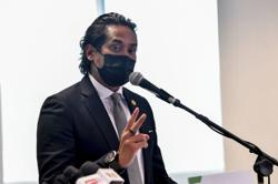 Khairy tests negative for Covid-19