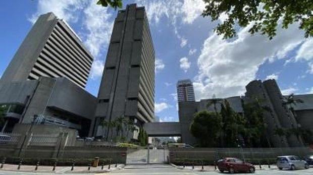 Bank Negara HQ in Kuala Lumpur
