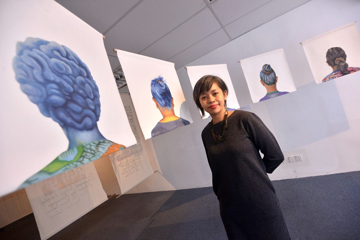 A filepic of curator Suzy Sulaiman, who revealed that a virtual exhibition was a challenging yet highly rewarding experience to put together in these pandemic days. Photo: The Star