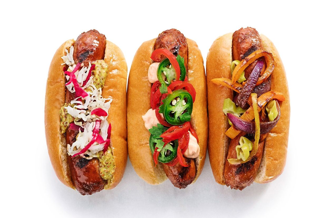 Like many of the new plant-based meats, Beyond Meat sausages offer a rewarding flavour experience that nearly exactly nails the qualities of the original version. — BEYOND MEAT